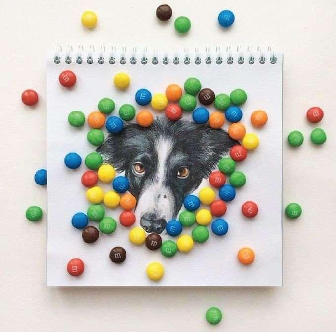 Невероятно реалистичные рисунки собак