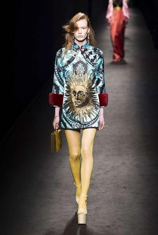 Коллекция Gucci, осень-зима 2016/17