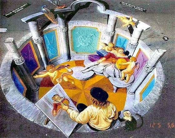 Мадоннари. Рисующие на асфальте