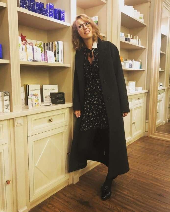 Ксения Собчак ответила на вопрос журналиста о своей второй беременности