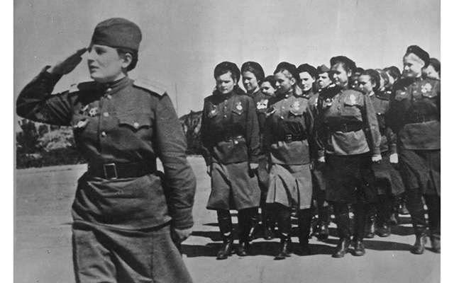 У войны не женское лицо, часть 1