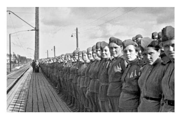 У войны не женское лицо, часть 2