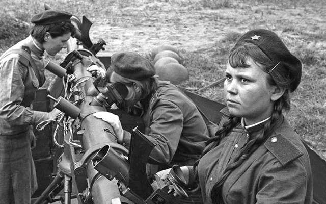 У войны не женское лицо , часть 3