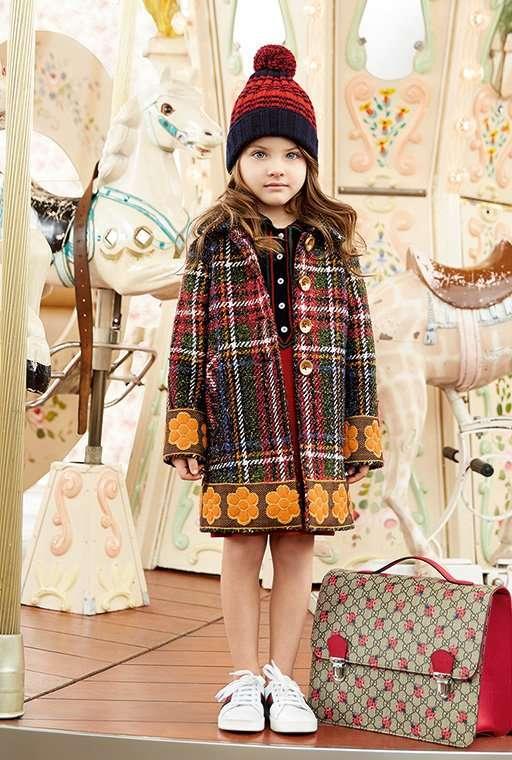 Детская коллекция Gucci, осень-зима 2016/17