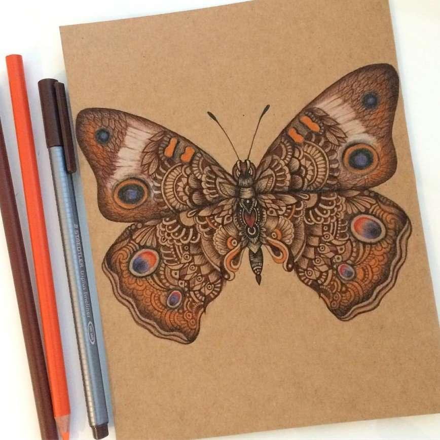 Эти рисунки с максимальным количеством деталей могут взорвать ваш мозг