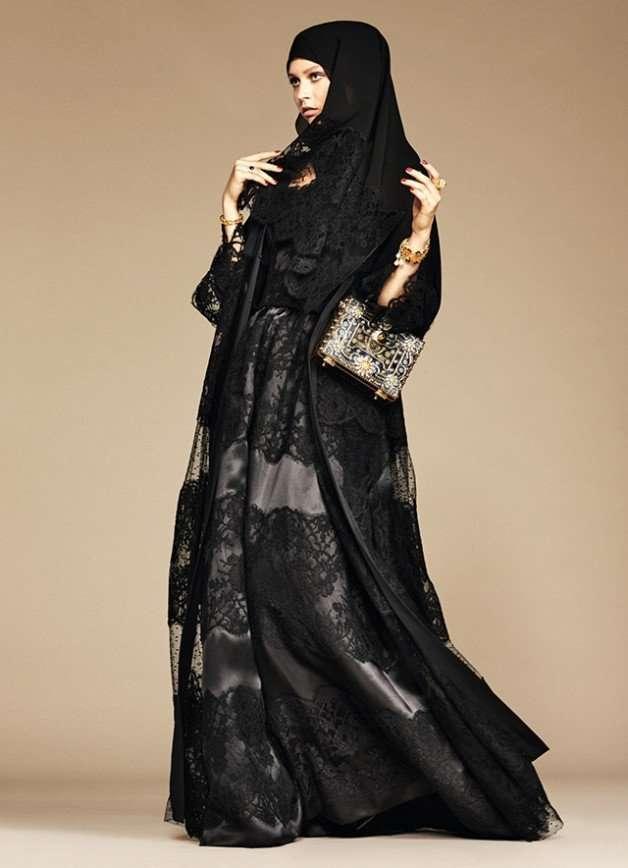 Dolce & Gabbana выпустил линейку хиджабов и абай