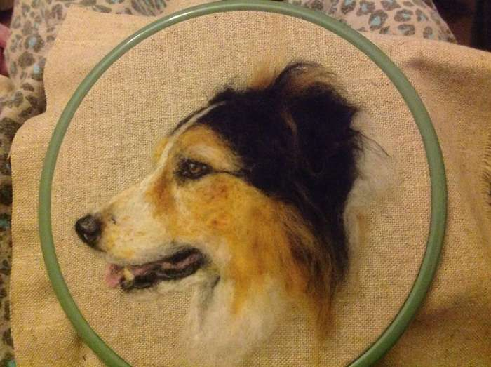 Совсем как живые: очаровательные собаки, созданные из войлока